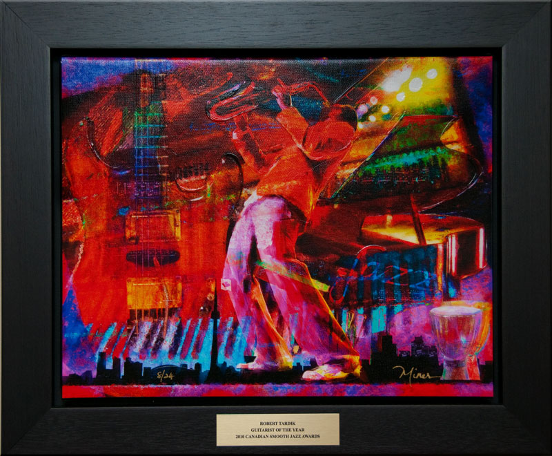 2010 Canadian Smooth Jazz Award - Guitarist of the Year