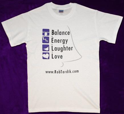T-Shirt - Balance.Energy.Laughter.Love (B.E.L.L)